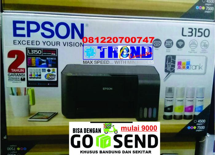 Jual [WIFI & WIFI DIRECT !!!] EPSON L3150 PRINT SCAN COPY / L-3150 WIFI -  Kota Bandung - TREND KOMPUTER BANDUNG | Tokopedia