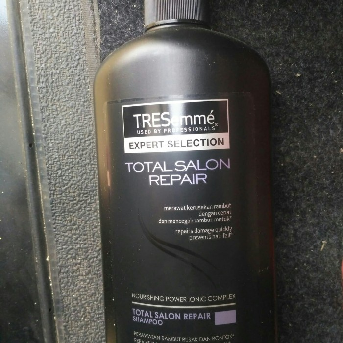 Tresemme Shampoo Keratin Smooth 170ml. Source · shampo tresemme total salon repair 670ml