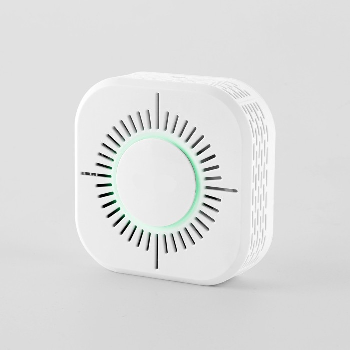 Alarm Sistem Keamanan Detektor Asap Kebakaran Nirkabel