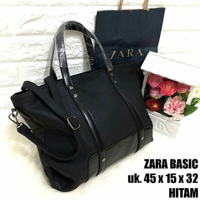 tas wanita Zara Basic 8955 Super Brand Ready hand bag