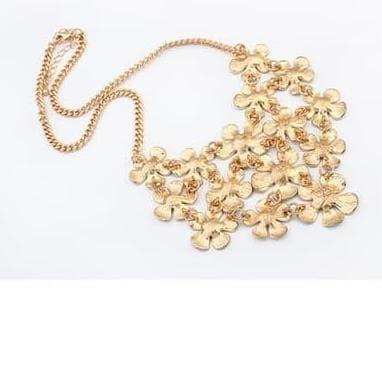 OFASHION Aksesoris Kalung CA-180314-K006 Necklace Fashion Xuping Jewelry Hitam Merah. Source · Kalung Motif Bunga Kuning Diamond Flowers Necklace Jewelry ...
