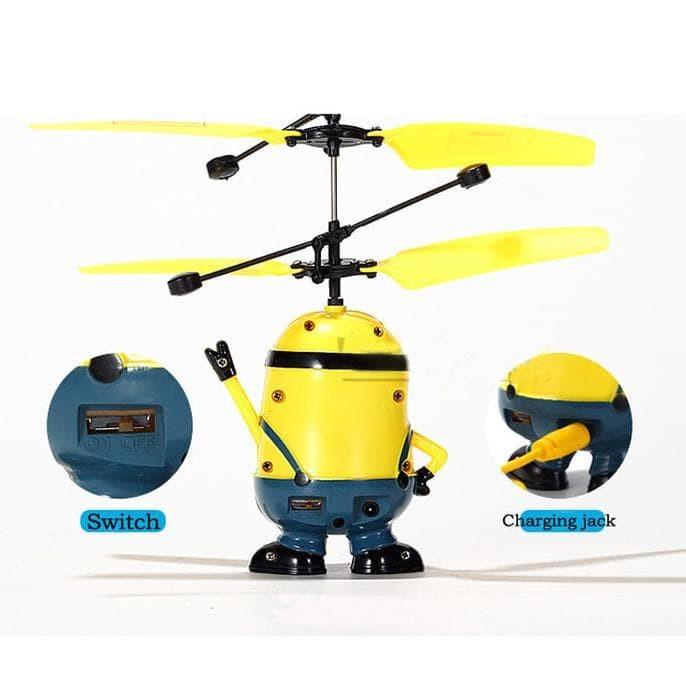 Flying Minion Super Hero Boneka Terbang Flying Toys Ada Sensor Nya ... d2ef41f3a2