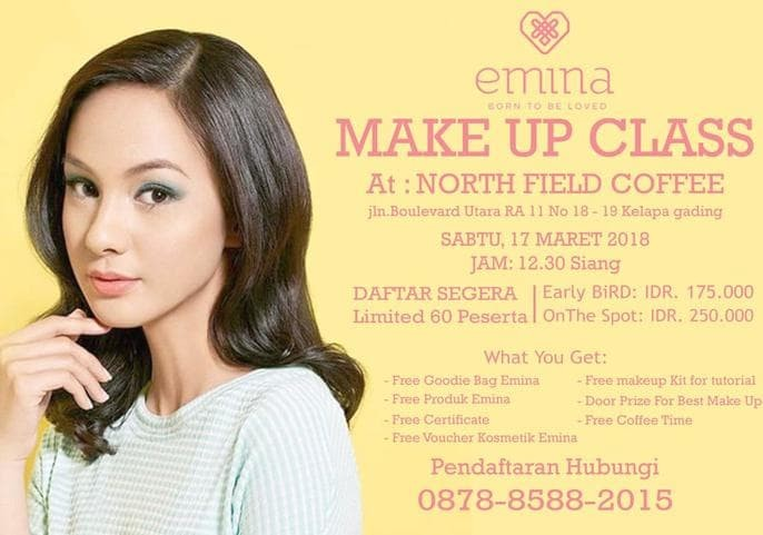 Makeup Forever Beauty Class Jakarta