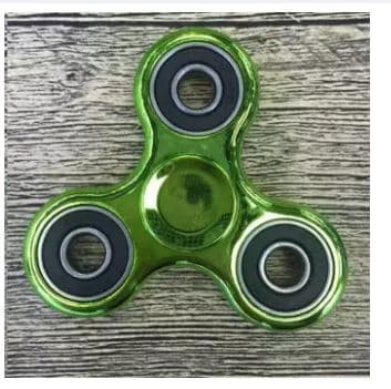 Fidget Spinner Exotic Hand Toys Mainan Tri-Spinner EDC Focus Games