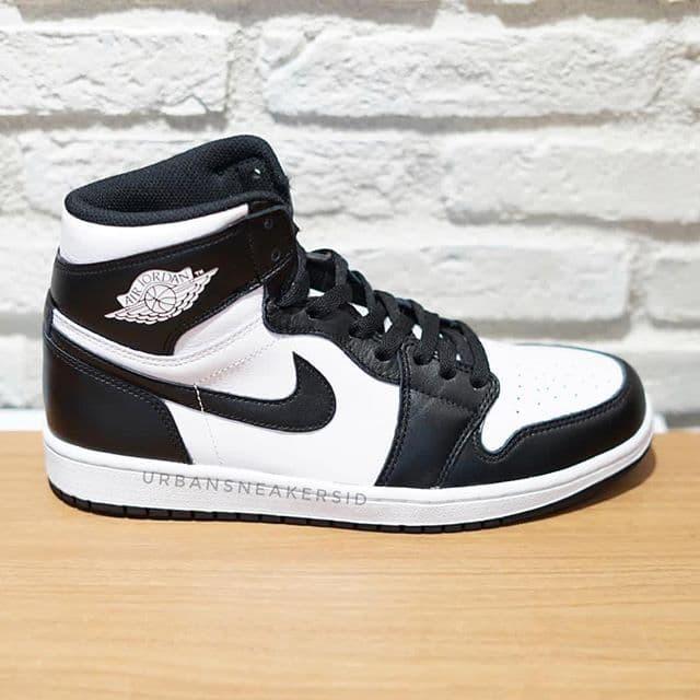 nike air jordan 1 black white Shop