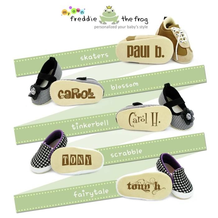 TS Sepatu Bayi - Prewalker - Baby Shoes | Freddie the Frog | Flame Jr.