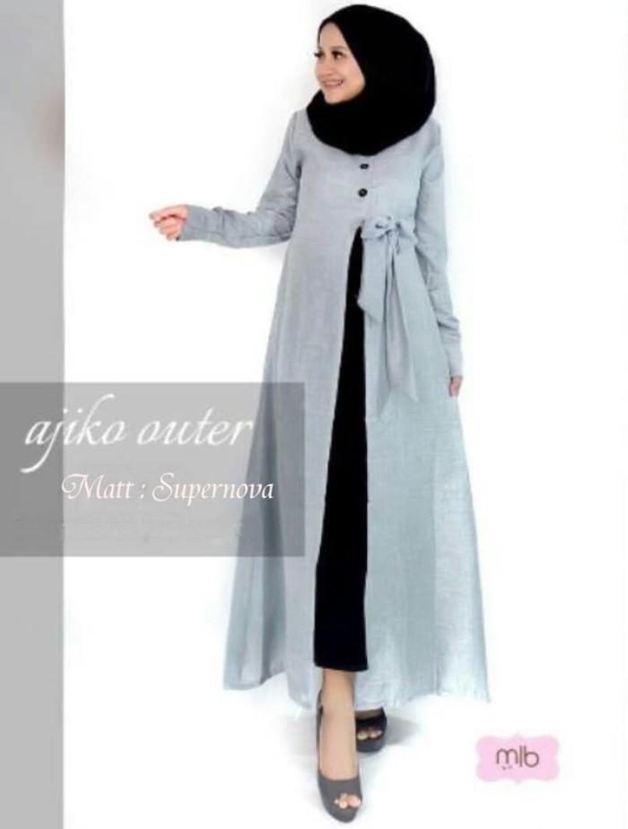 Jual Baju Blazer Outer Muslimah Baju Gamis Outer Blazer Syari Premi
