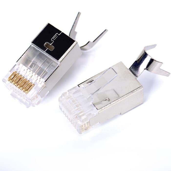 harga Vention vdd-s02 konektor rj45 cat7 ftp modular head plug connector Tokopedia.com