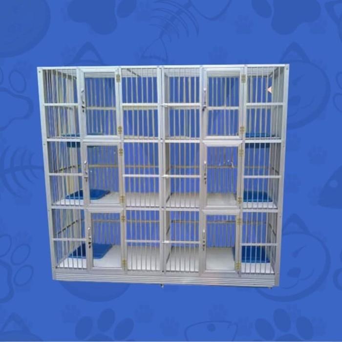 harga Kandang kucing aluminium migocat 6 kamar tingkat Tokopedia.com