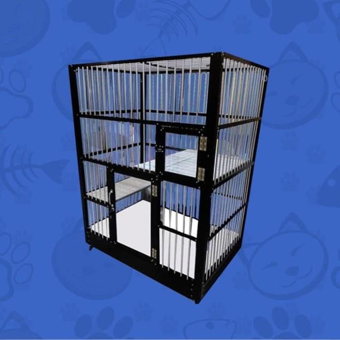 harga Kandang kucing aluminium migocat 1 kamar tingkat Tokopedia.com