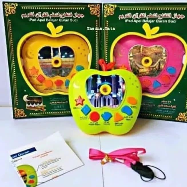 Foto Produk MAINAN ANAK APLE QURAN BARU 7 TOMBOL LAMPU PROYEKTOR dari nambeng toys
