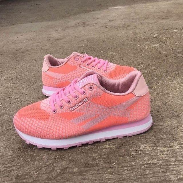 4b0484947fc Jual Sepatu Wanita - Reebok Classic Pink - GO - csneakers