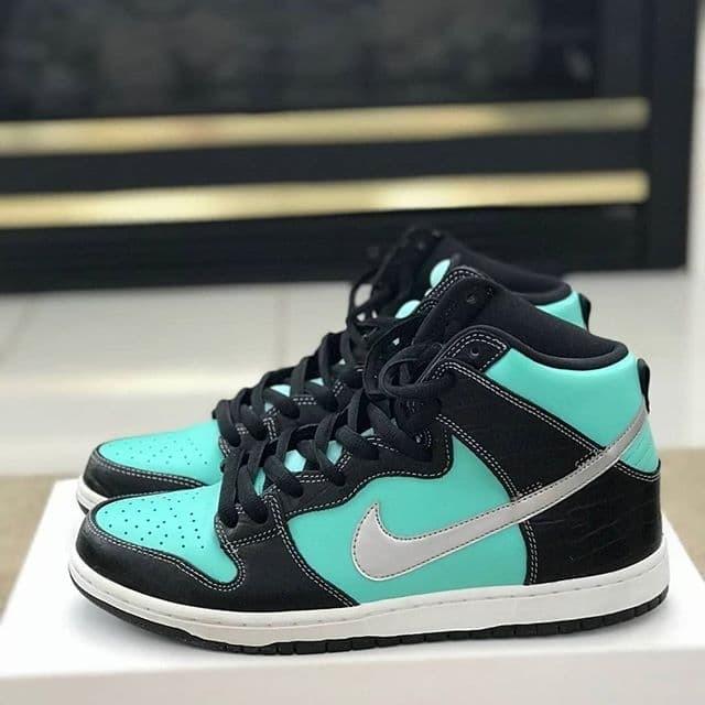 best cheap 3d78c 81eea Jual Diamond Supply Co. x Nike SB Dunk High Premium - Kota Kediri - vaksow  original | Tokopedia