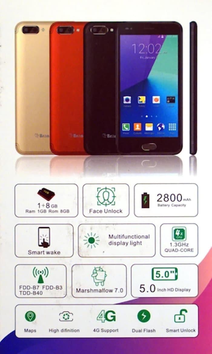 Brandcode L1F Smartphone 4G LTE Face Unlock Ram 1 Internal 8 Gb Resmi