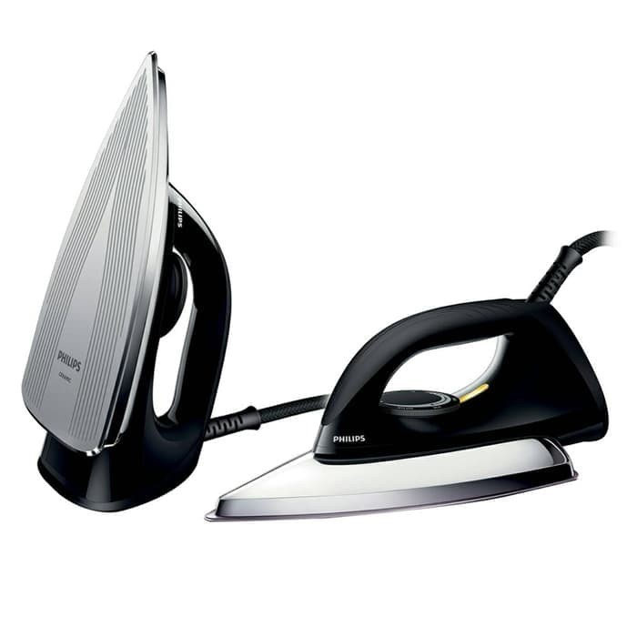 harga Philips dry iron / setrika hd 1173 hitam Tokopedia.com