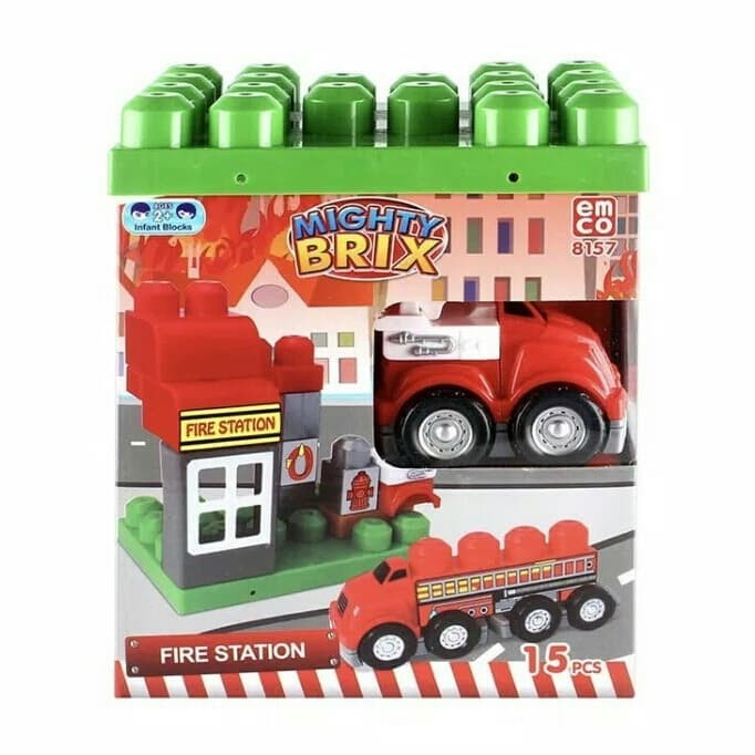 Emco mighty brix -fire station