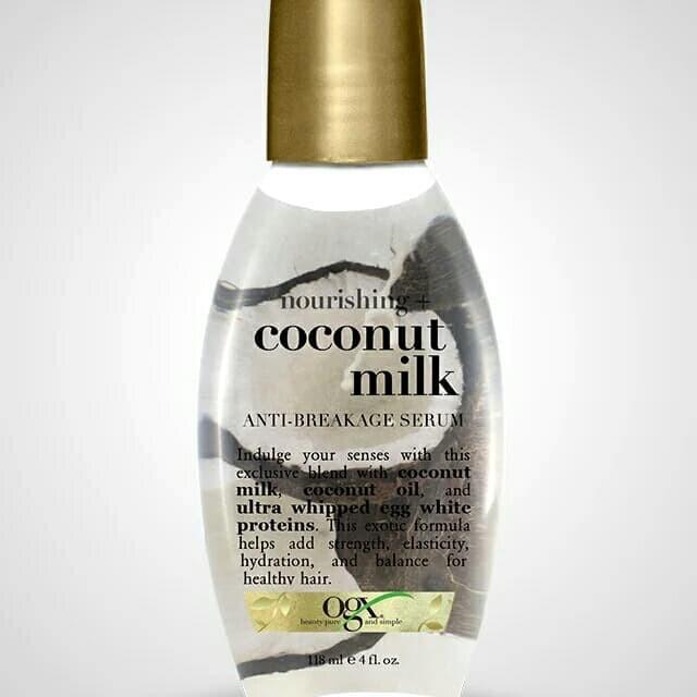 Foto Produk Ogx Organix nourishing coconut milk anti breakage serum 118 ml dari Lanlan shop