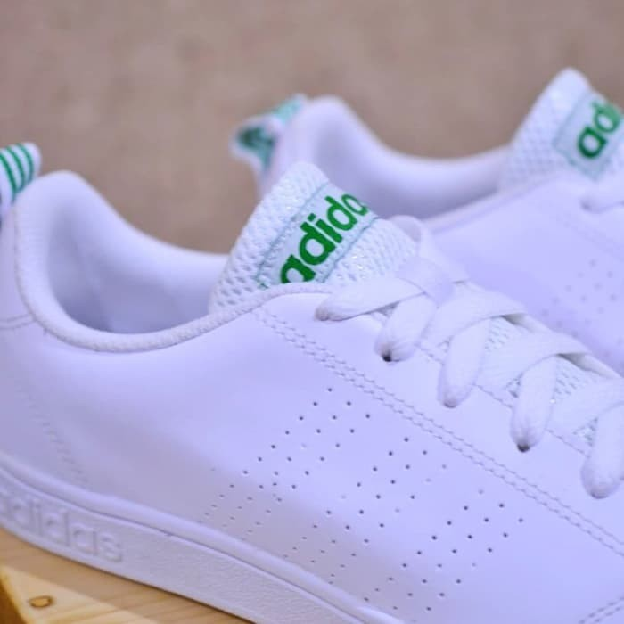 5f8f7384537f Jual ORIGINAL Adidas Neo Advantage white list green - 17 Shop ...