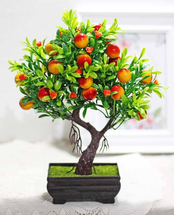 harga Pohon bonsai hiasan hias plastik artificial cherry ceri cery tree a2 Tokopedia.com