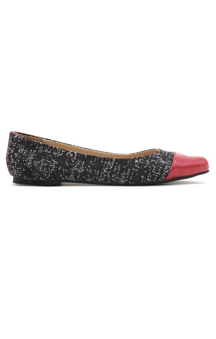Yongki komaladi flat shoes alicya - black - hitam 37