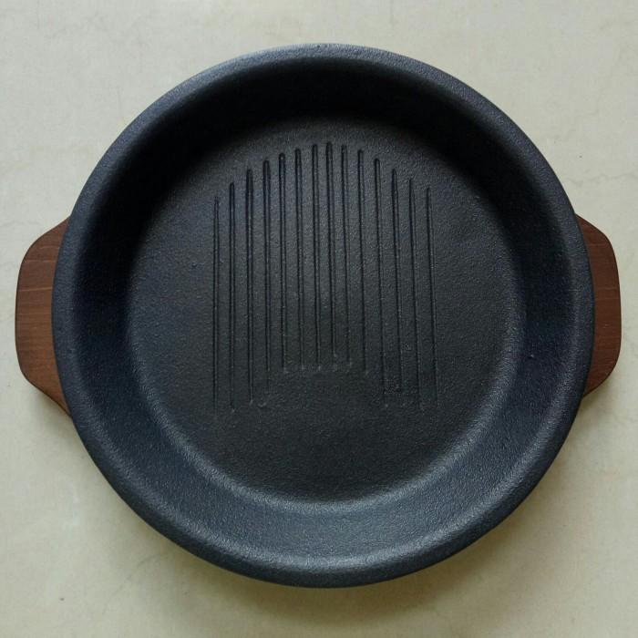 Foto Produk Hot Plate Bulat seperti Pepper Lunch Hotplate (Ada garis2nya) dari desupplies