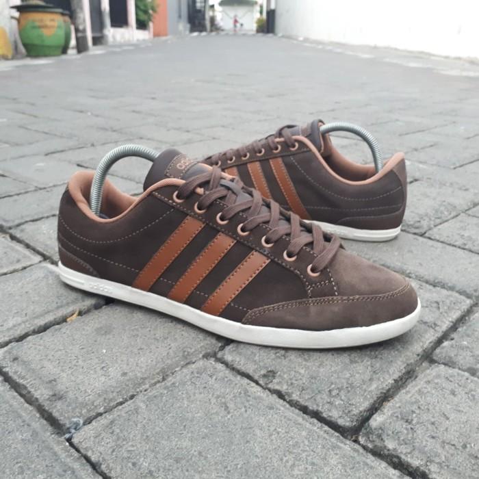 3f2fb9ae70b Jual Sneakers Sepatu Adidas Neo Caflaire Brown Original - Kota Surabaya -  Gallery Sneakers   Tokopedia