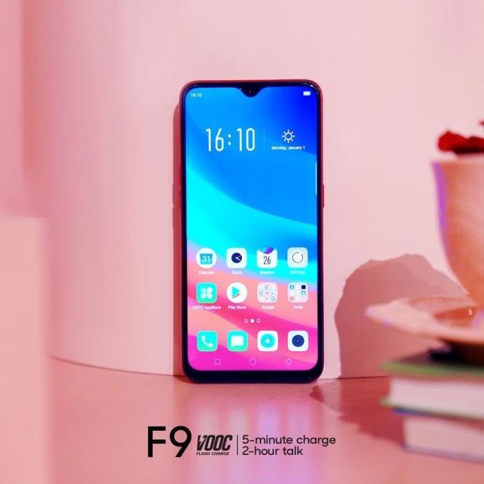 Jual Handphone Hp Oppo F9 Ram 4gb Rom 64gb Garansi Resmi Bukan F7