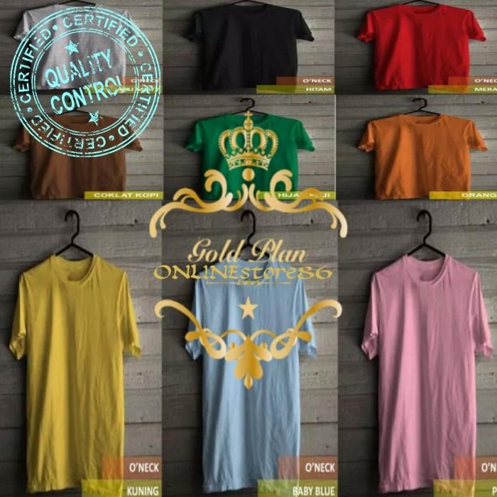Premium Quality Cotton 20s Kaos pria polos kaos polos wanita 20