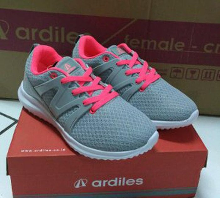 Jual Sepatu sport woman Ardiles Allium Grey Fuchsia Limited ... 37af69a464