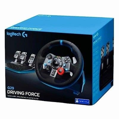 Logitech G29 G 29 Force Wheel Steering for PC PS3 PS4 RESMI 2 TAHUN