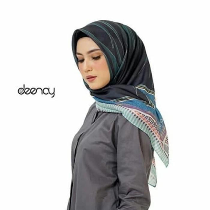 Deenay hijab voal premium - leaf