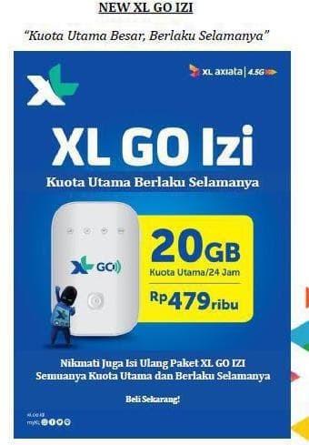 Mifi Modem Wifi 4G Xl Go Movimax Mv003 Free 60Gb 60Hari Best Seller