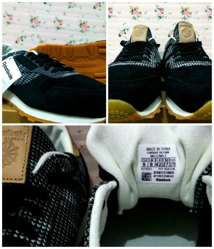 d3985b0eaa5 Jual Reebok CL LEATHER EBK (BS6236) - Putih - ravanashoes