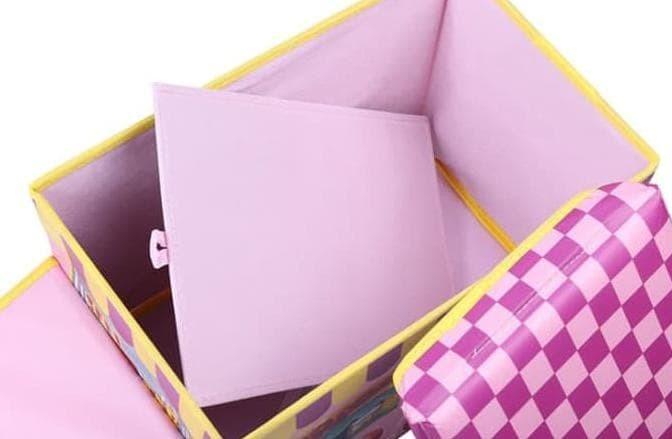 Foto Produk Sb009 - Food Bus Storage Box / Kotak Penyimpanan Bentuk Bus - Biru dari toko smiley333