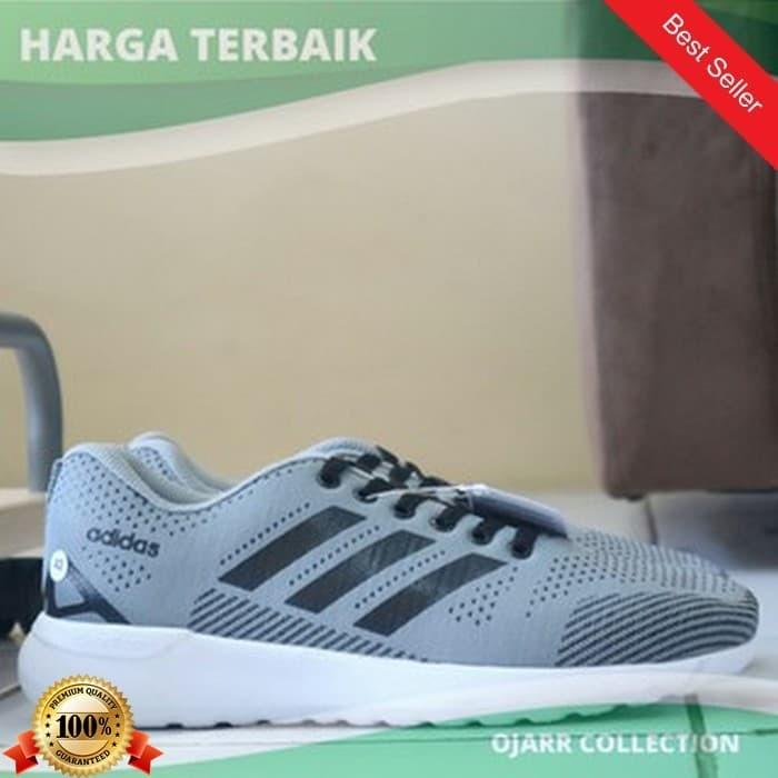 Jual Sepatu Sneakers 3 Adidas Neo Cloud Foam Speed Racer Pria Warna ... 7315cd5ca