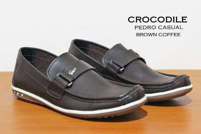 Foto Produk PROMO ! Sepatu slop praktis crocodile casual pria santai formal dari Distributor Alat Fitnes