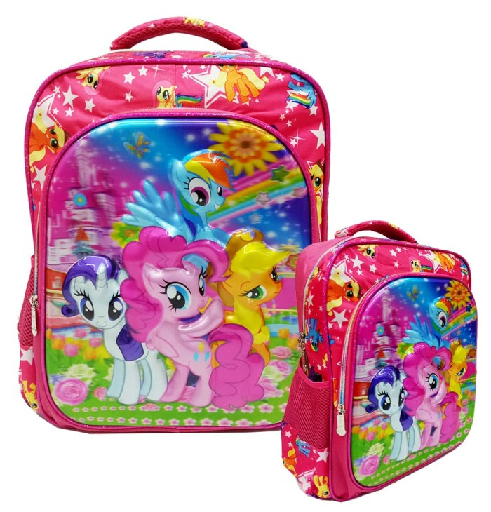 Jual Tas Ransel Anak Sekolah Sd My Little Pony 5 D Timbul Hologram Import - Dki Jakarta - Tas Anak Harga Grosir | Tokopedia