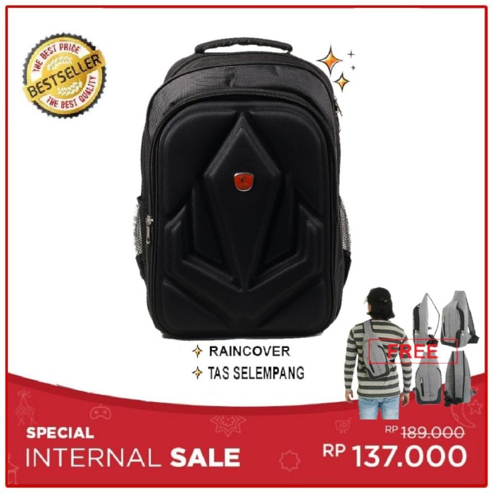 harga Sx26 tas ransel laptop free tas selempang polo Tokopedia.com