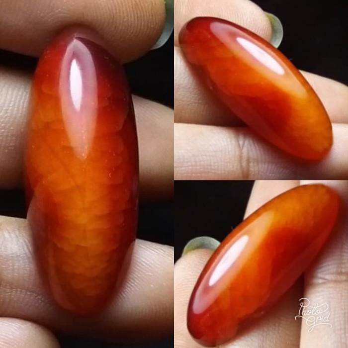harga Batu natural akik pandan nanas merah Tokopedia.com