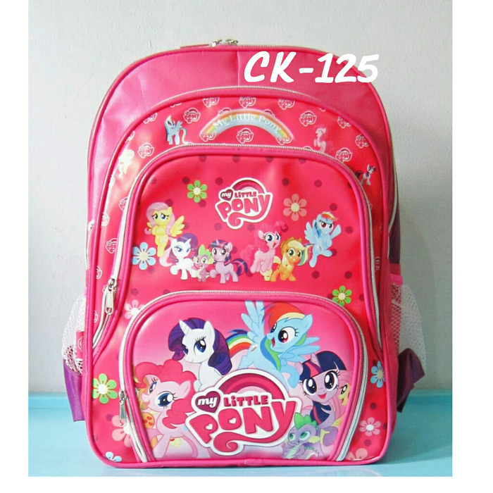 Jual Tas Anak-Tas Ransel SD My Little Pony 4 Kantong - Tas Sekolah ... 7e6d9dd65a