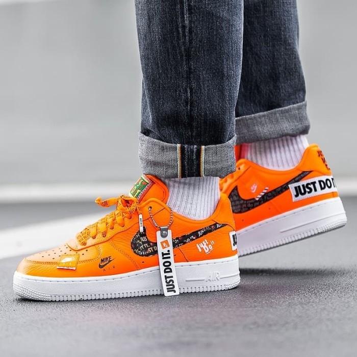Jual Nike Air Force 1 Low Just Do It Pack Orange Kota Bandung Struggle Sneaker Store | Tokopedia