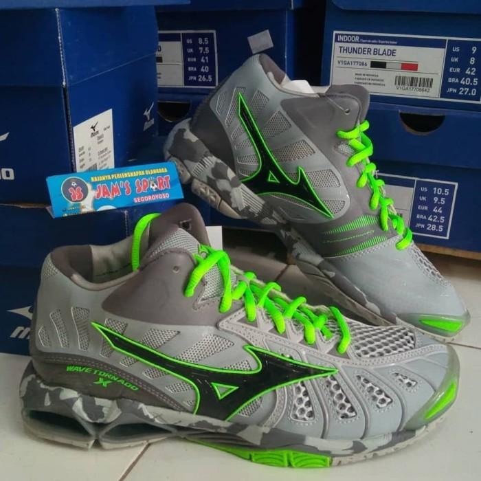 Jual sepatu running Mizuno voli original wave tornado x mid - jams ... 08e35dbc77
