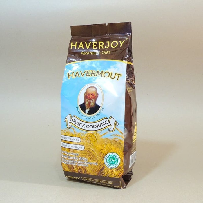 HAVERJOY HAVERMOUT QUICK COOKING OAT 500G (800047)