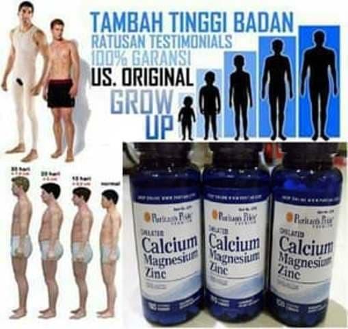 harga Puritan Pride Chelated Calcium Magnesium Zinc 100 Caplets Blanja.com