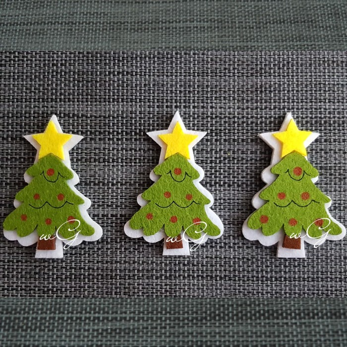 harga Flanel natal pohon natal a; 1 pack : 5 pieces Tokopedia.com