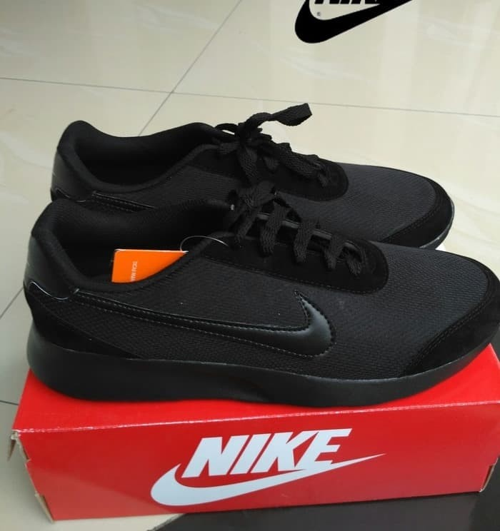 harga Sepatu kets olahraga jogging nike sport hitam pria ukuran besar jumbo Tokopedia.com
