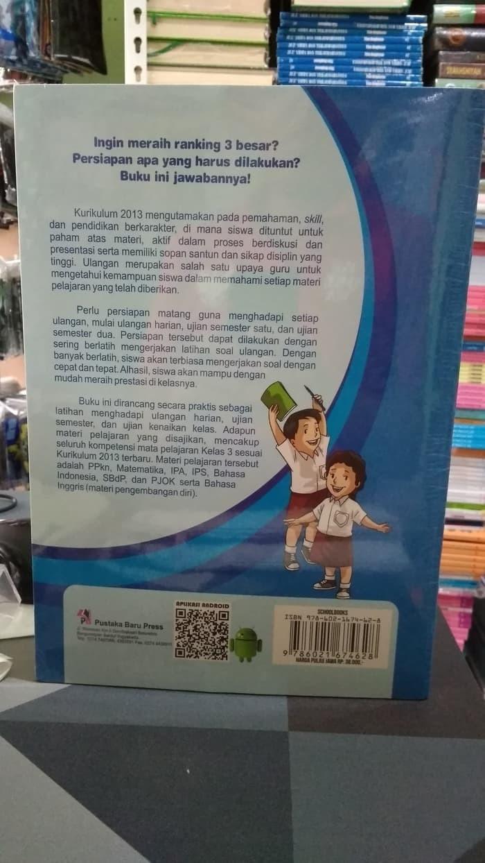 Jual Buku BEST SELLER PINTAR ULANGAN SD MI KELAS 3 K13N ORIGINAL Jakarta Barat Golden R