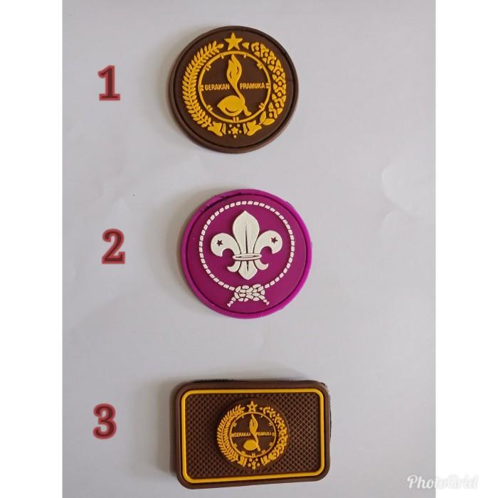 Jual Patch Rubber Velcro Logo Scout Pramuka Kab Bandung Dn 17 Army Shop Tokopedia