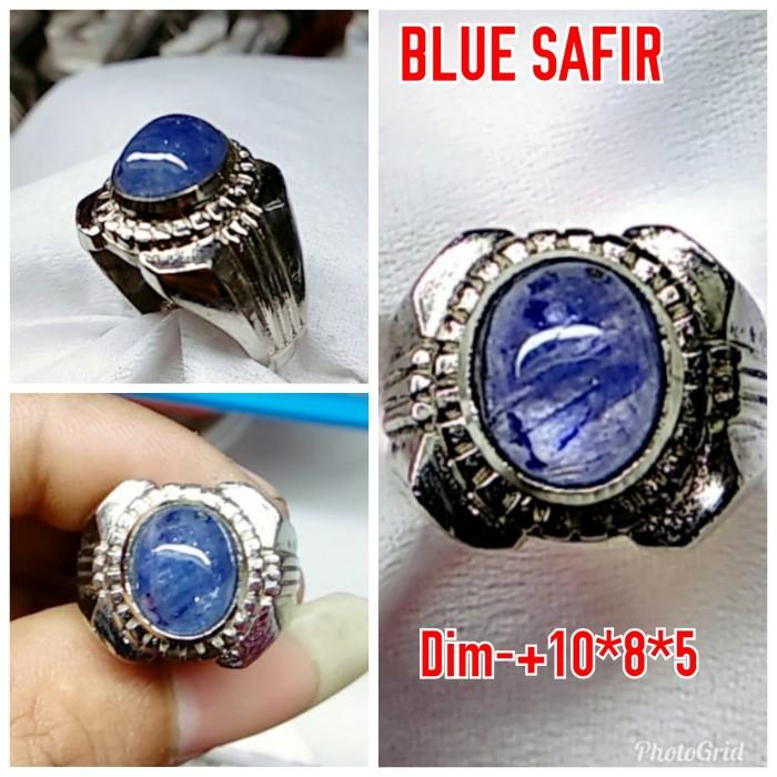 harga Natural batu permata blue safir/ cincin mewah alpaka super Tokopedia.com