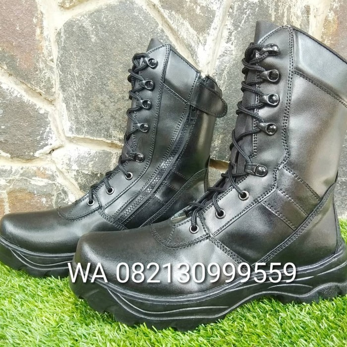 Jaferi Sepatu Boots Pdl Delta Baru Sembur Safety Warna Coklat Bahan ... 50e8a22d94